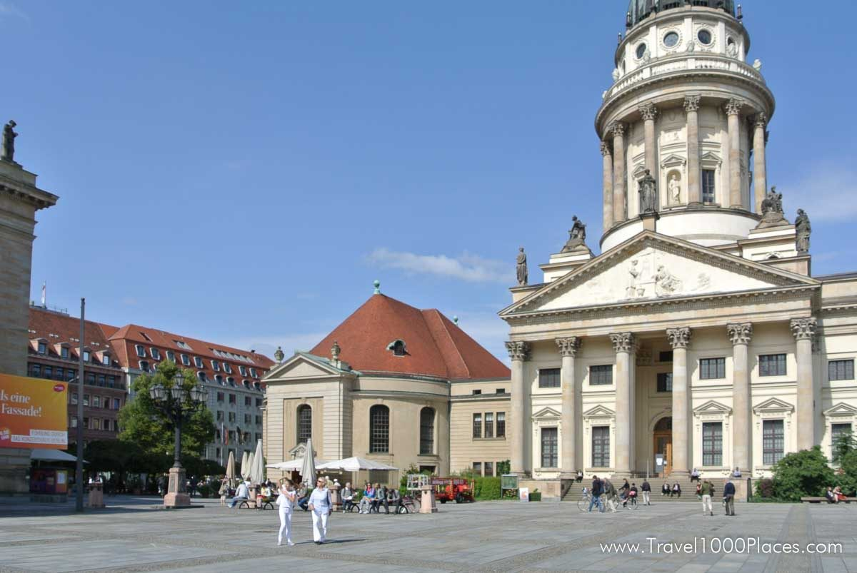 Gendarmenmarkt Berlin, Germany - the most beautiful square in Berlin
