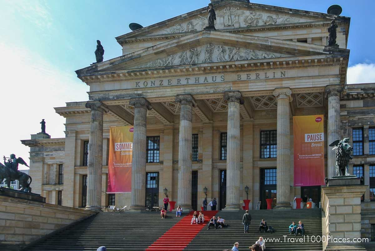 Konzerthaus Berlin at Gendarmenmarkt Berlin, Germany - the most beautiful square in Berlin