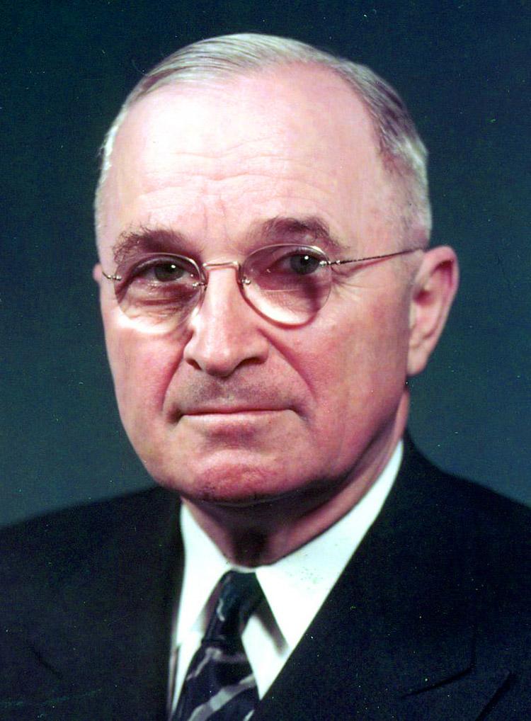 Harry S Truman, 33rd president