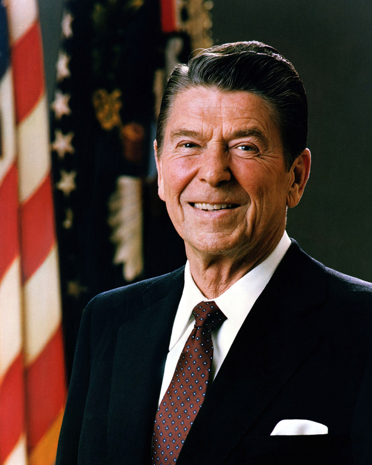 Ronald Reagan, 40th president