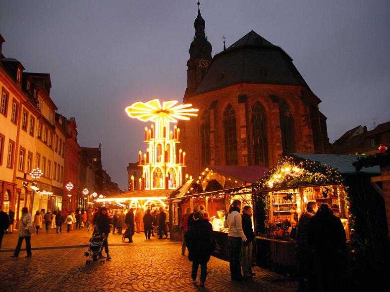 Heidelberg Christmas Market (photo: Heidelberg Tourism)