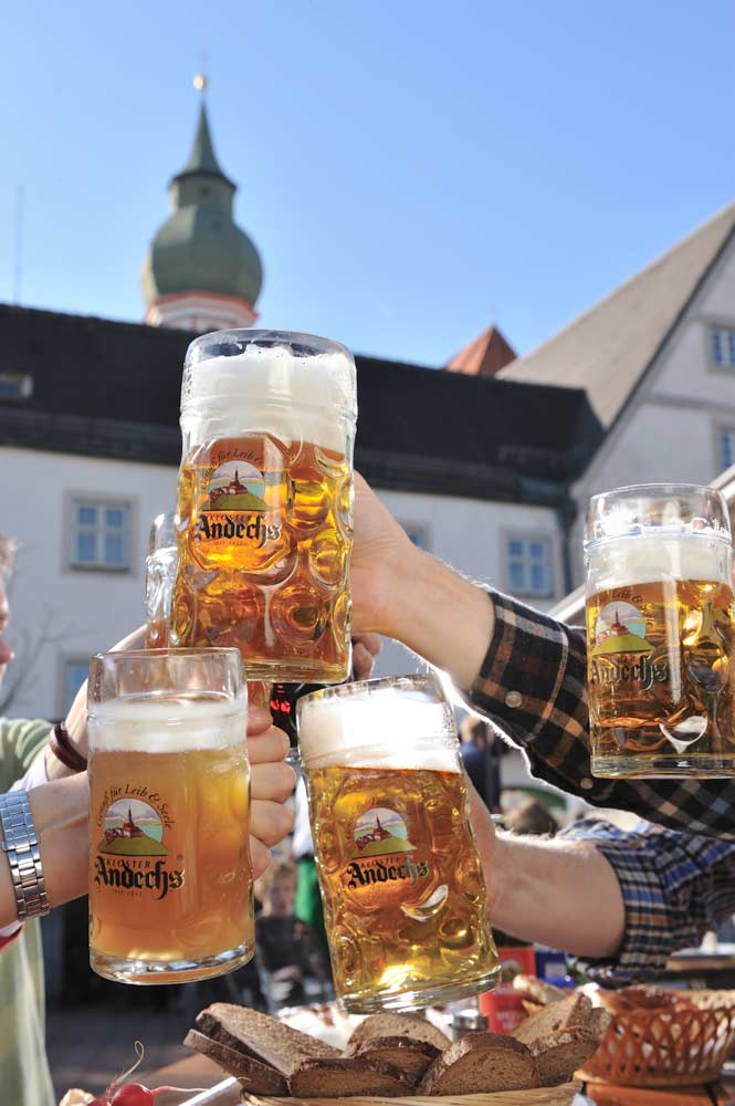 Beer at Andechs Abbey (Foto: Kloster Andechs / Falk Heller)