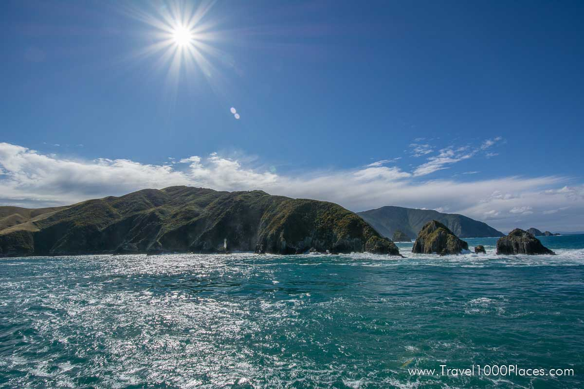 Cook Strait -- Ferry between North- and South Island of New Zealand