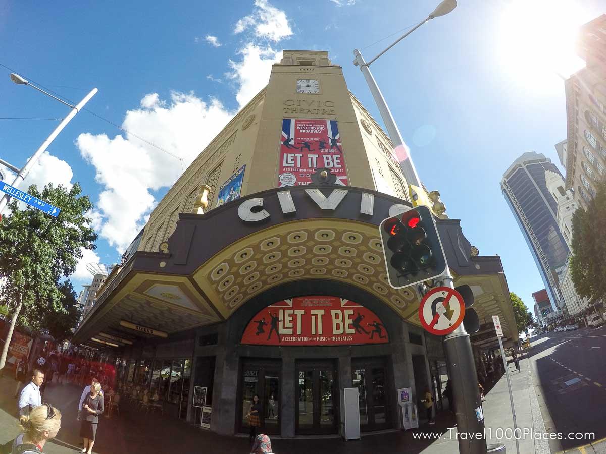 Civic Theatre in Auckland