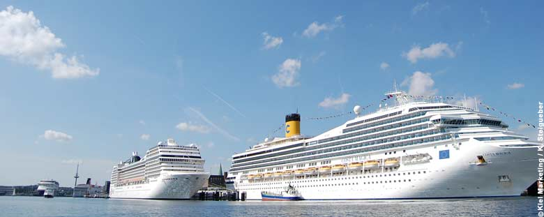 Kiel Cruise Ship Harbor