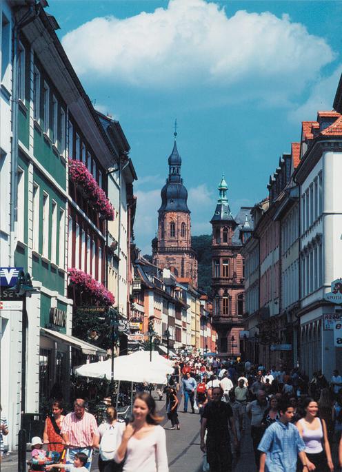 Hauptstrasse, Heidelberg (photo: Heidelberg Tourism)
