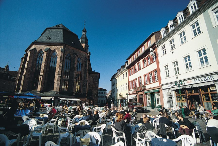 Marktplatz, Heidelberg (photo: Heidelberg Tourism)