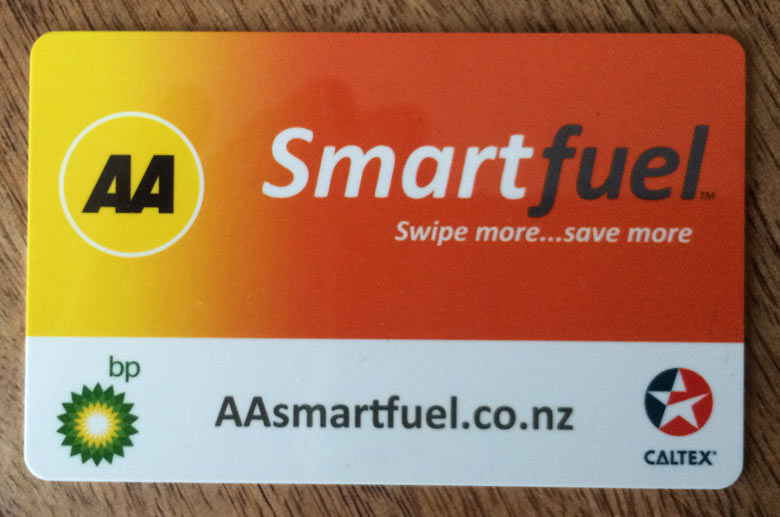 AA Smartfuel program in New Zealand
