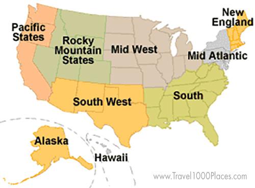 USA regions