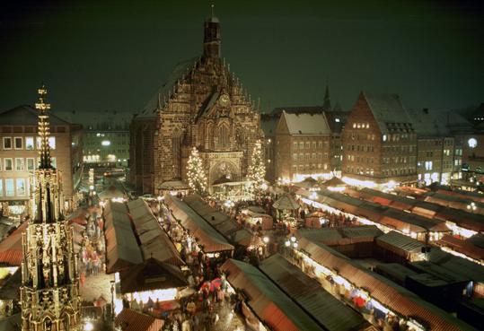 Nuremberg Christkindlmarkt (photo: Nürnberg -- City of Nuremberg)