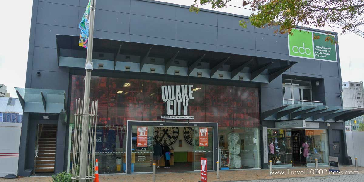 Christchurch -- hit by several major earthquakes between 2010 and 2012