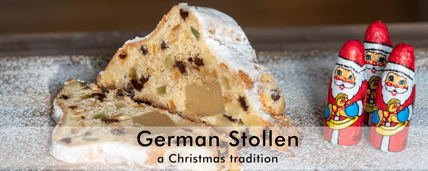 German Stollen -- a Christmas cake and tradition (photo: www.frankschrader.us)