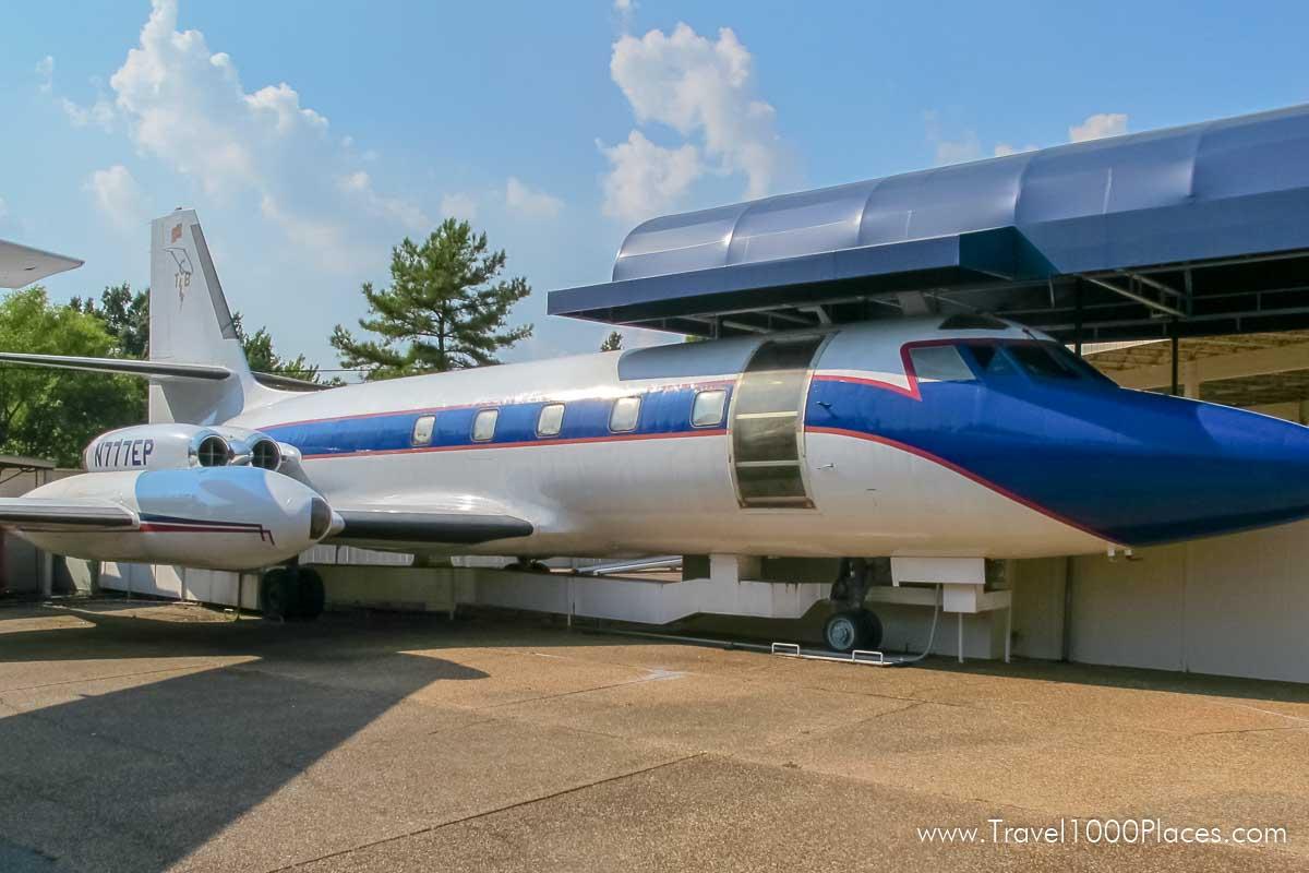 Graceland, Memphis: Lisa Marie was Elvis' plane