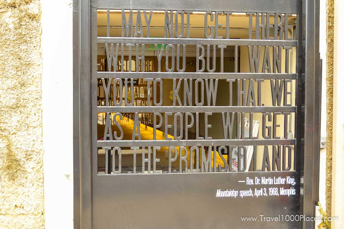 Civil Rights Museum in Memphis