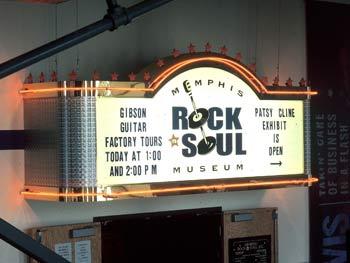 Rock'n Soul Museum, Memphis