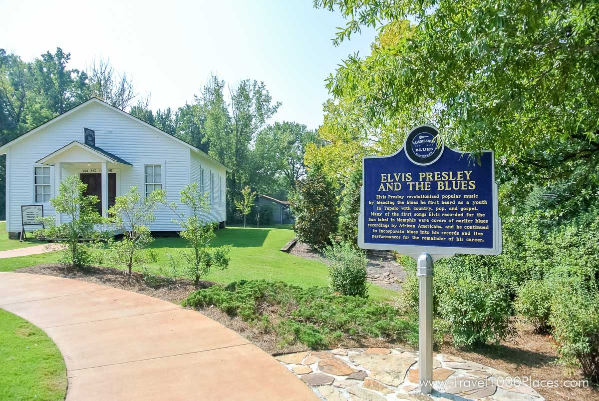 Elvis Birthplace House in Tupelo, Mississippi, USA