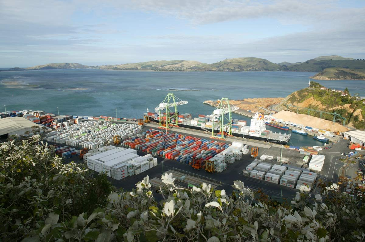 Port Chalmers, New Zealand (photo: Tourism Dunedin)
