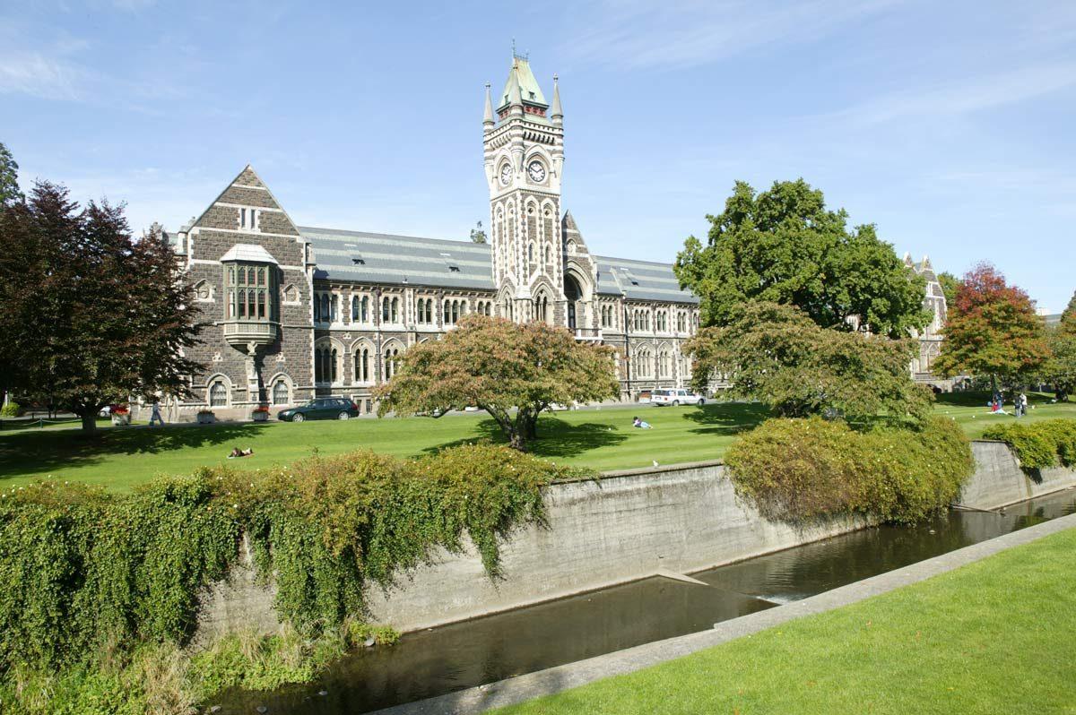 University of Otago, Dunedin, New Zealand (photo: Tourism Dunedin)