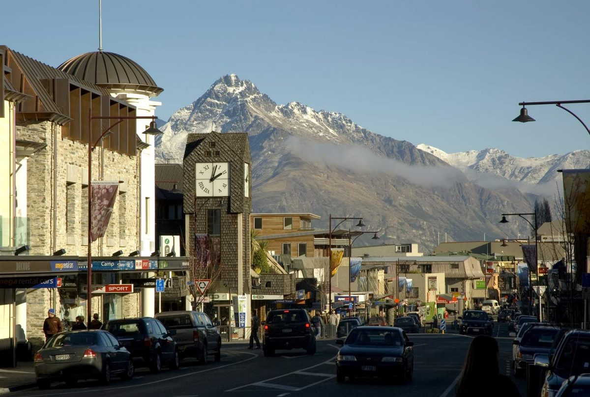 Clock Tower, Shotover Street, Queenstown (photo: Destination Queenstown)