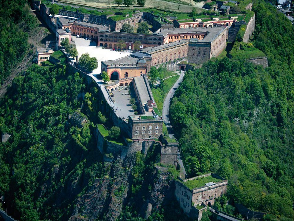 Festung Ehrenbreitstein, Koblenz (photo: Koblenz Touristik)