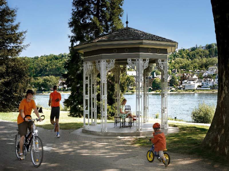 Kaiserin Augusta Park (photo: Koblenz Touristik)