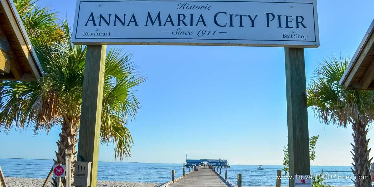 Anna Maria Pier - Anna Maria Island, Florida, USA