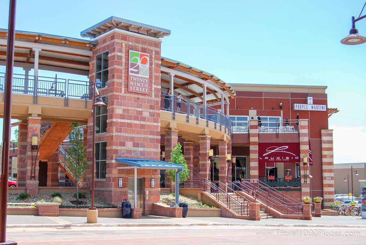 29 Street Mall, Boulder, Colorado