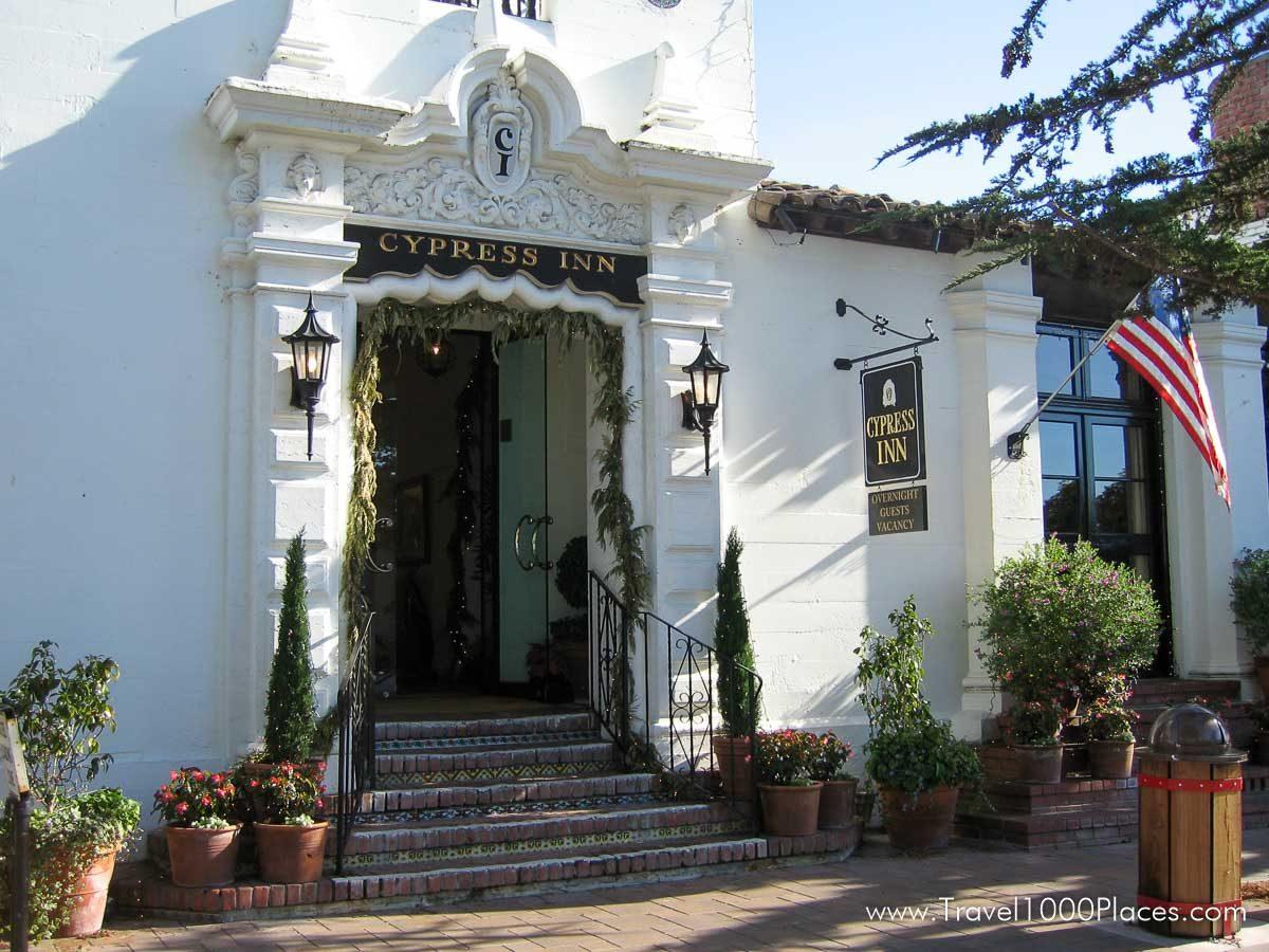 Cypress Inn (Doris Day Hotel) in Carmel-by-the-Sea, California, USA
