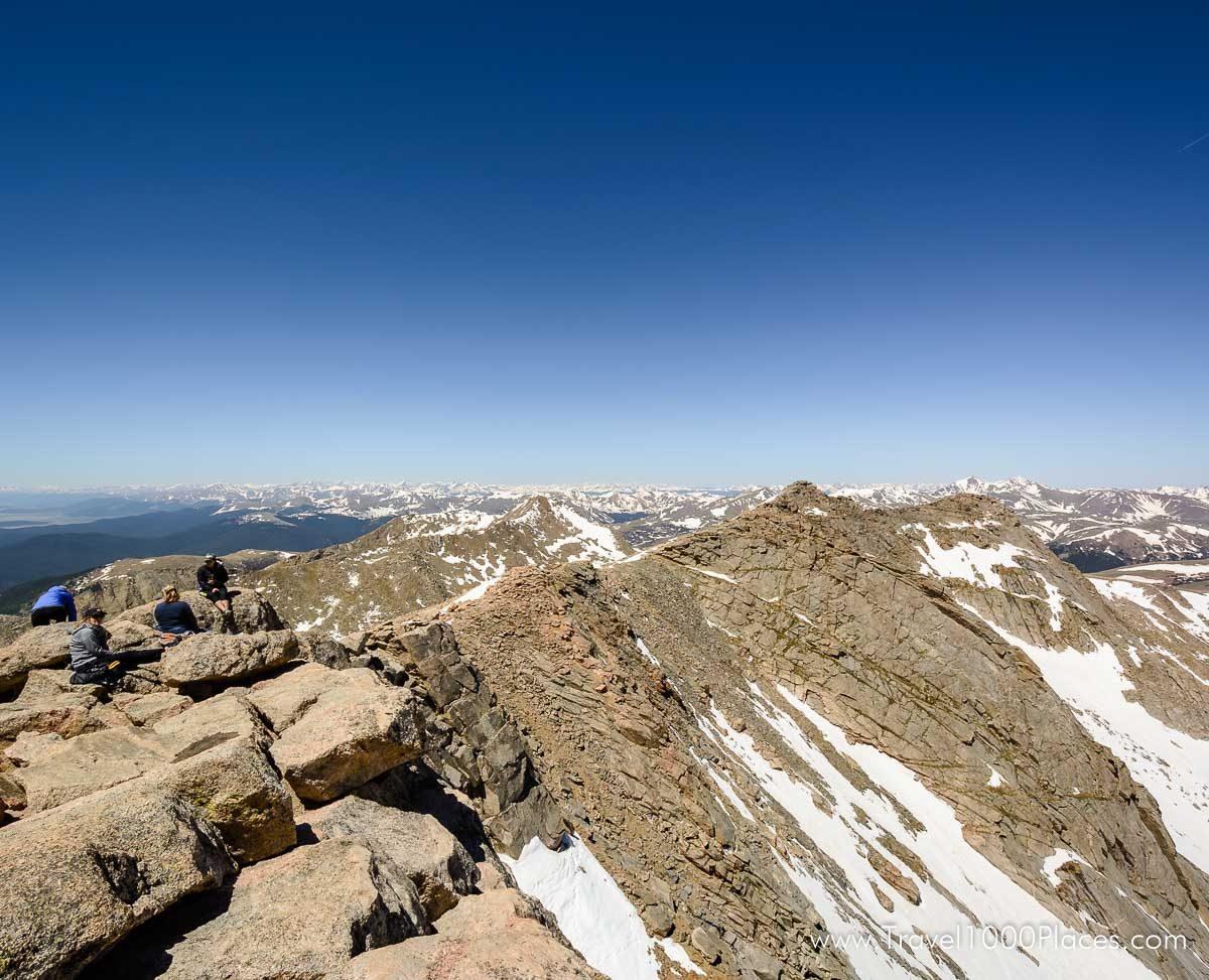 Mount Evans, near Idaho Springs, Colorado, USA