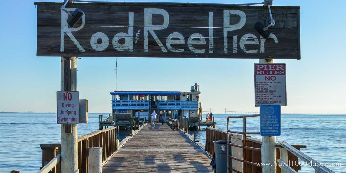 Rod and Reel Pier - Anna Maria Island, Florida, USA