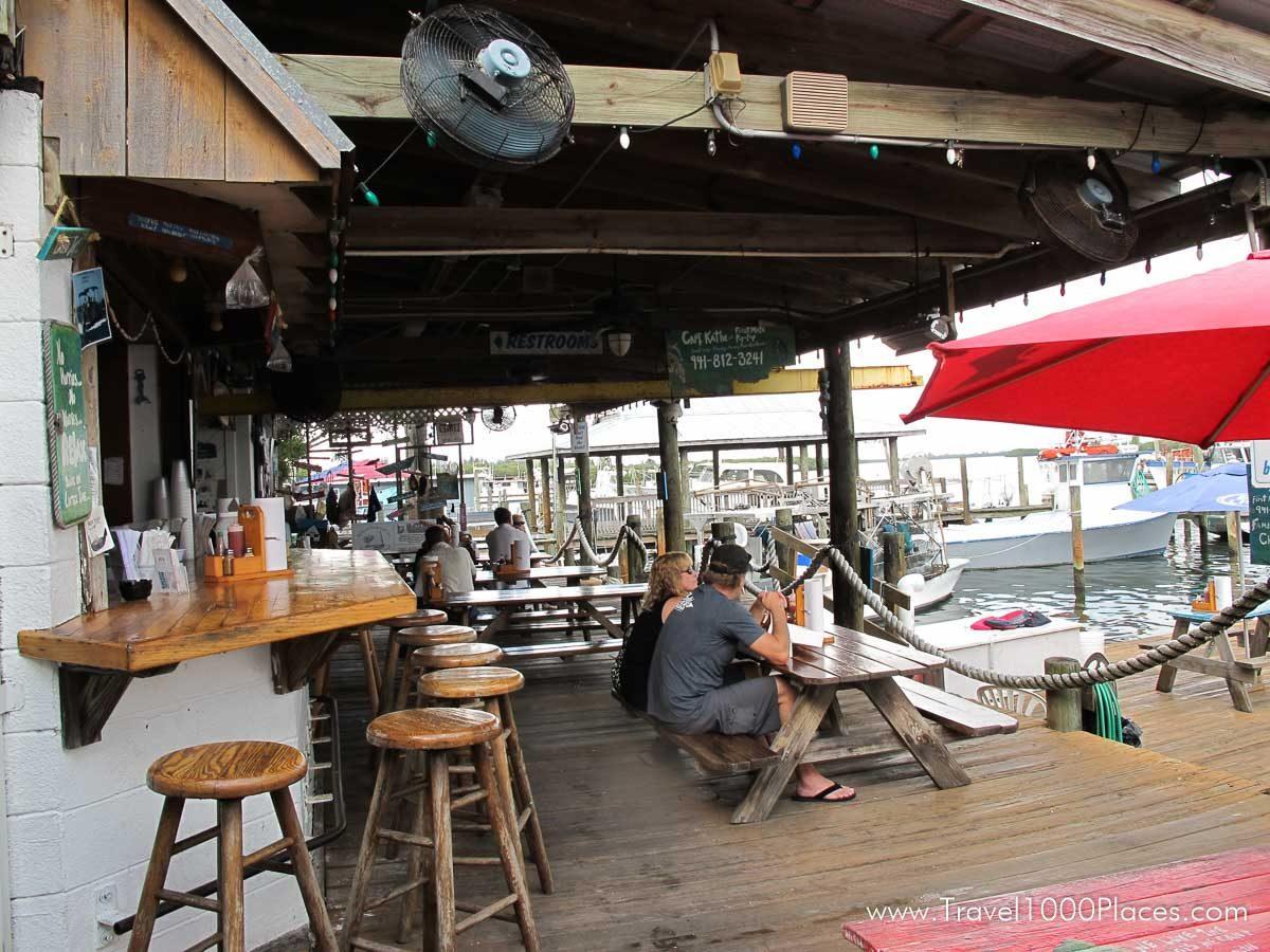 Star Fish Co Dockside Restaurant, Anna Maria Island, Florida