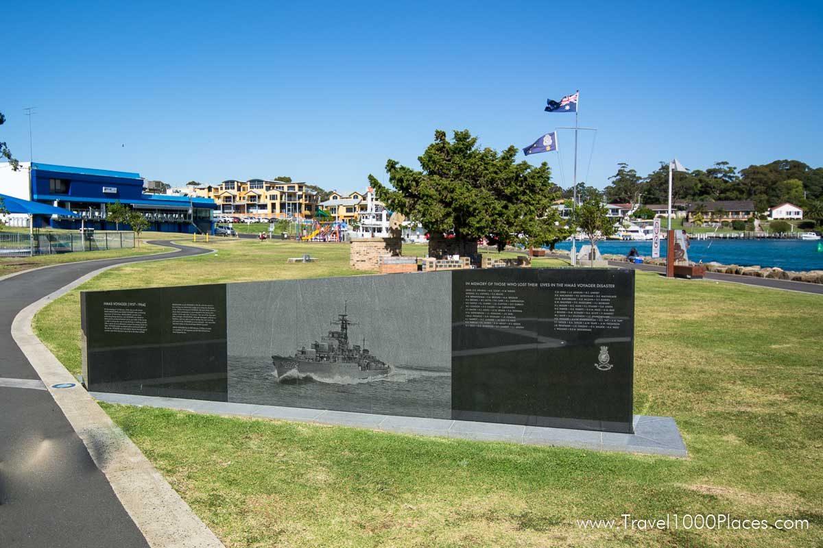 Voyager Memorial Park, Huskisson, Jervis Bay, NSW, Australia