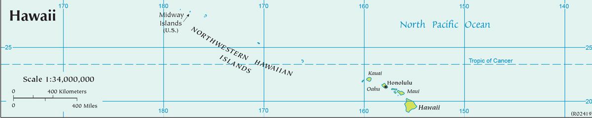 Hawaii, USA (map)
