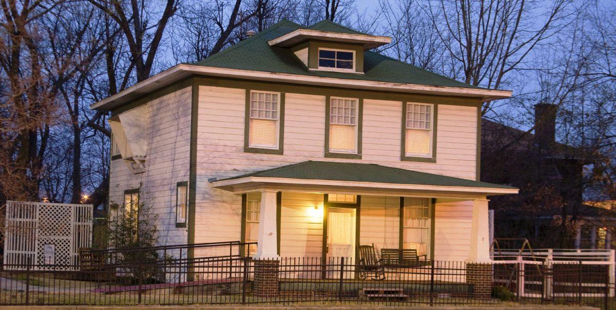 Bill Clinton Birthplace Home in Hope, Arkansas (photo: NPS)