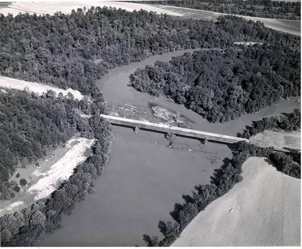Miller Covered Bridge, Horseshoe Military Park in Alabama (photo NPS)