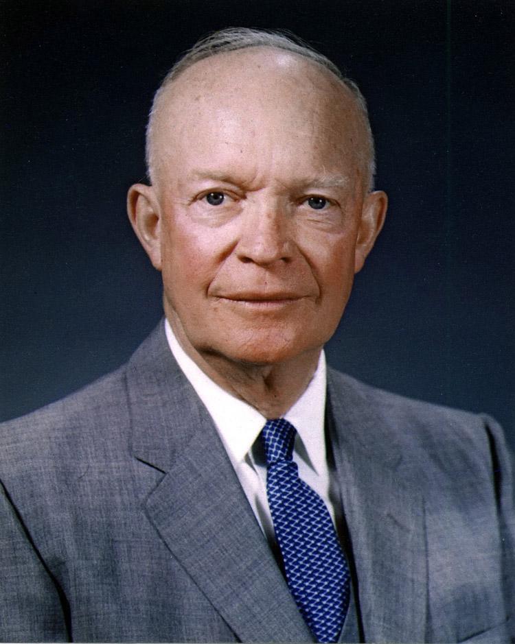 Dwight D Eisenhower, 34th president