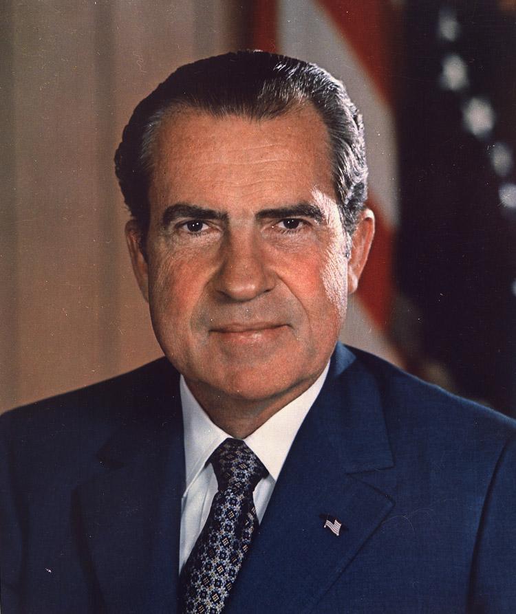 Richard M Nixon, 37th president