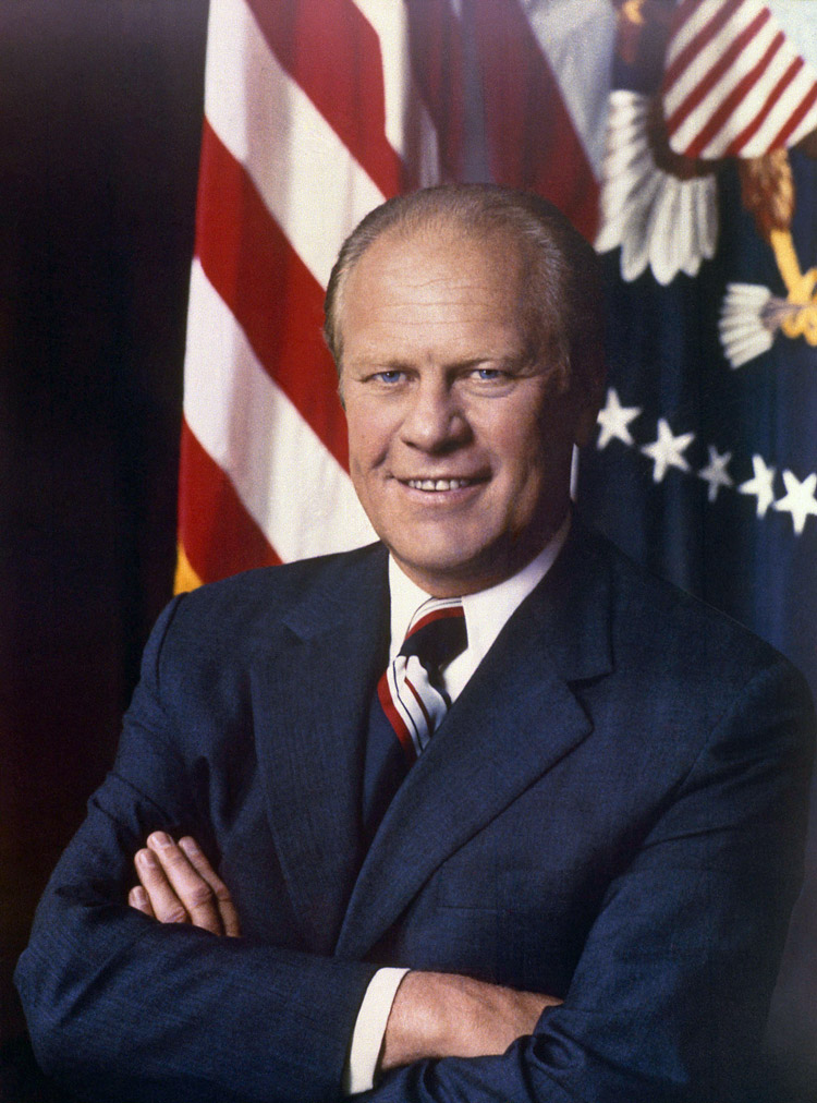 Gerald Ford, 38th president