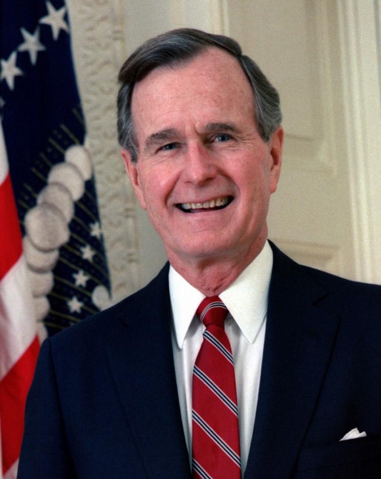George H W Bush, 41st president