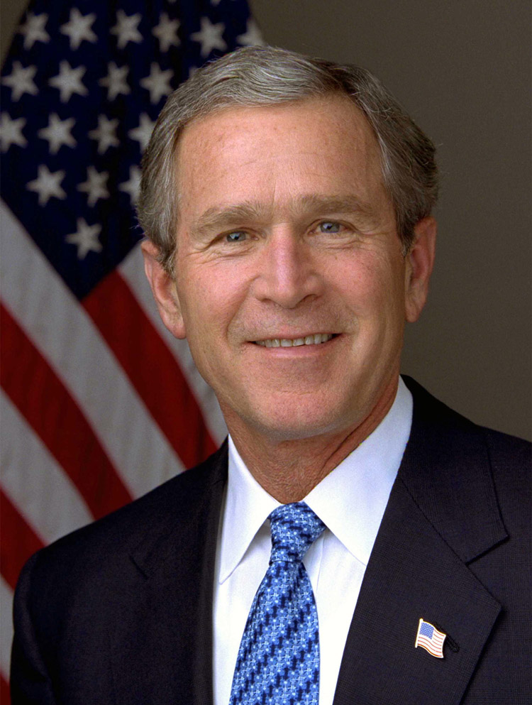 George W Bush, 43rd president