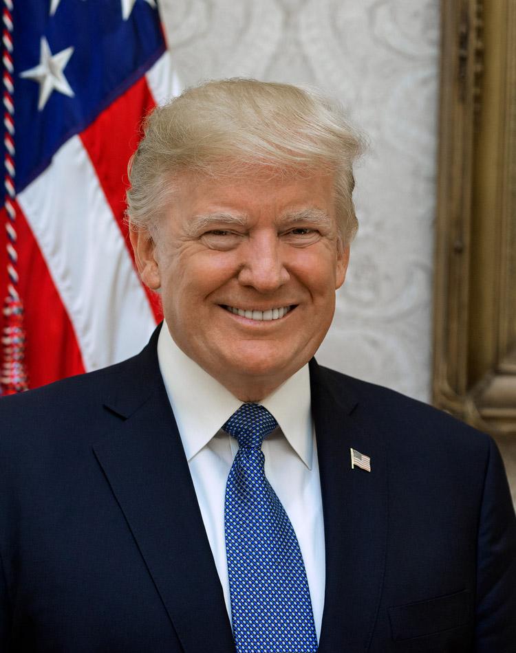 Donald Trump, 45th president