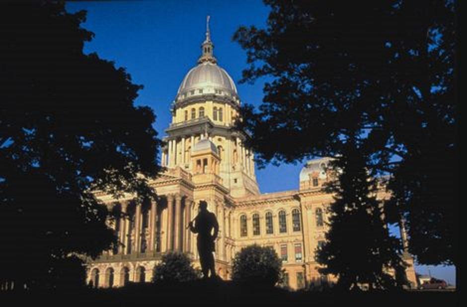 Illinois State Capitol in Springfield, Illinois [photo: Springfield CVB]