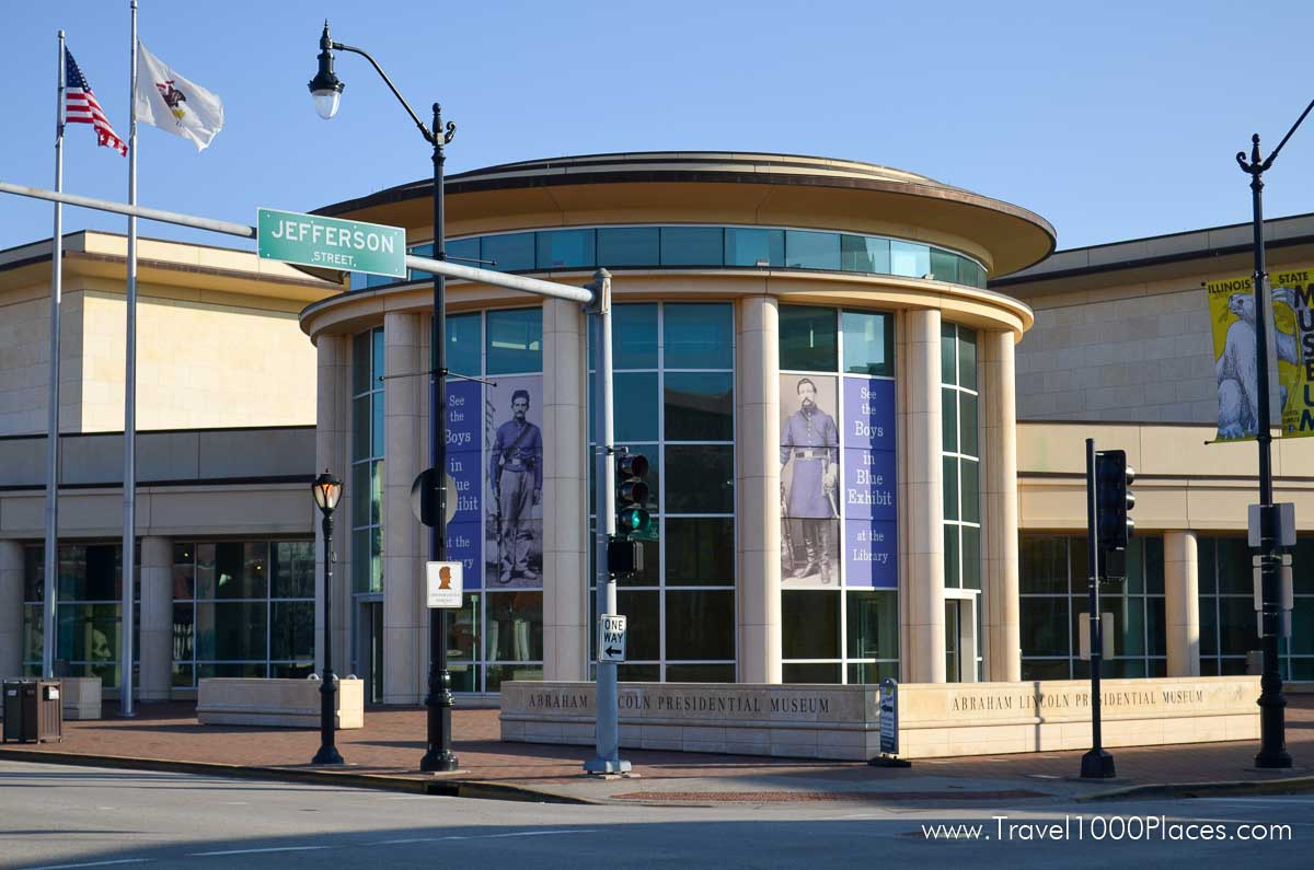 Abraham Lincoln Presidential Library and Museum, Springfield, Illinois, USA