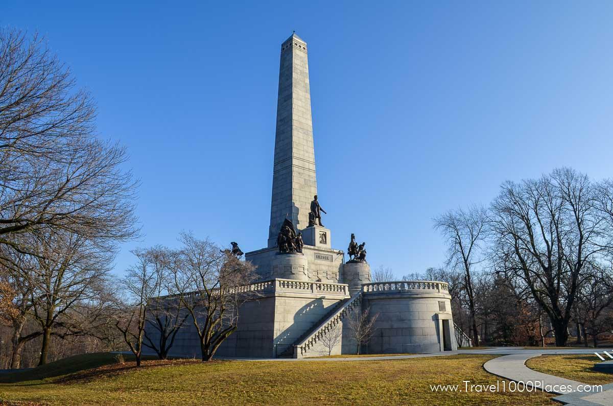 Springfield Oak Ridge Cemetery and Lincoln Tomb