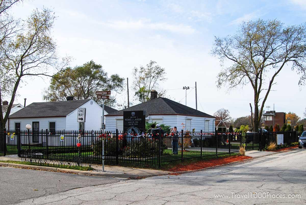 Michael Jackson Home in Gary, Indiana, USA