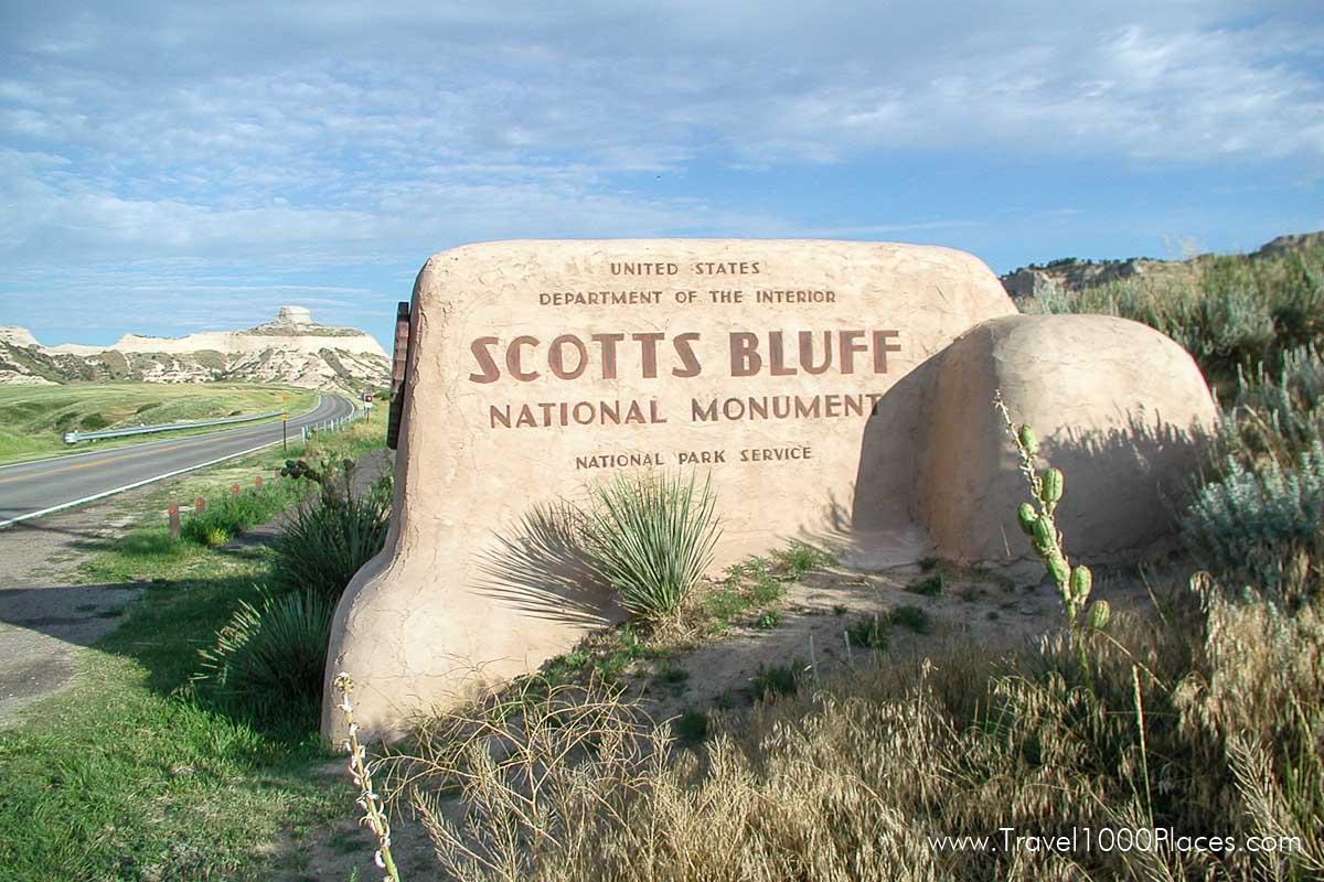 Scotts Bluff National Monument, Nebraska, USA