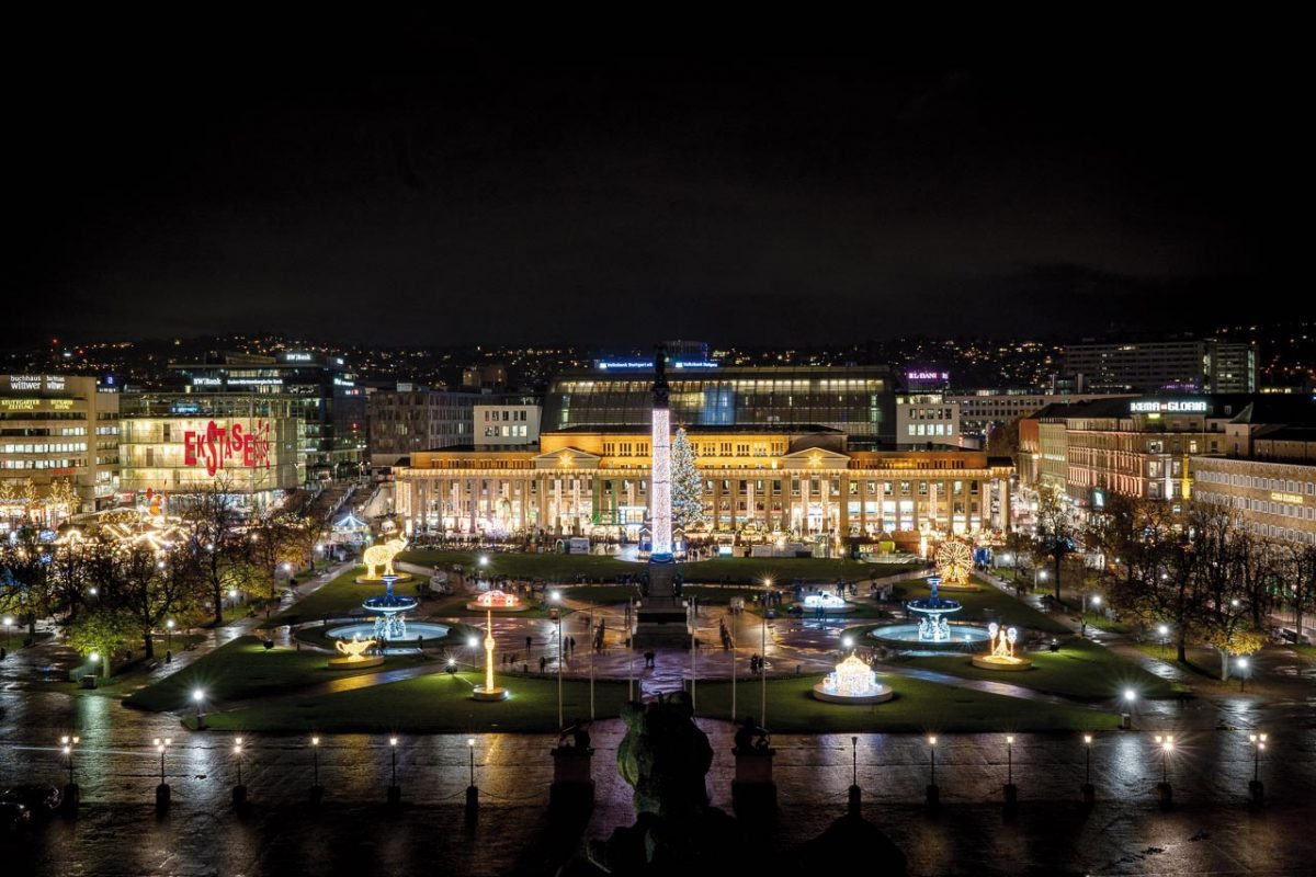 Stuttgart Schlossplatz [photo: Stuttgart-Marketing GmbH / Frank Hörner]