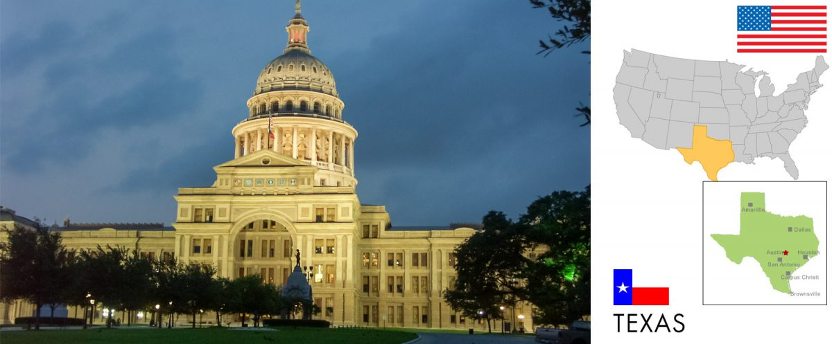 Texas, USA -- photo: Capitol in Austin [photo: travel1000places.com]