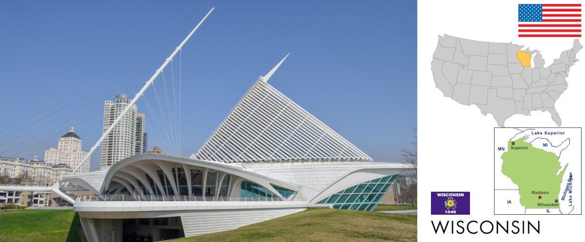 Wisconsin, USA -- photo: Museum of Modern Art, Milwaukee [photo: travel1000places.com]