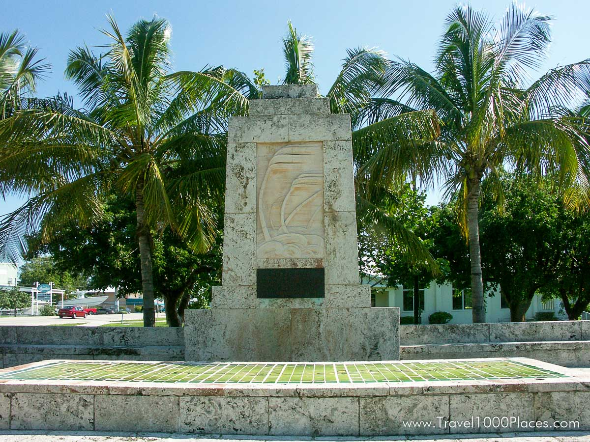 Hurricane of 1935 Monument, Islamorada, Florida Keys